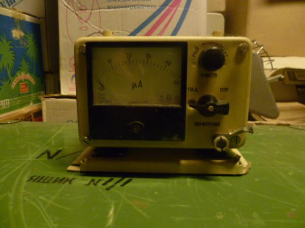 КСВ-метр от радиостанции Р-619
