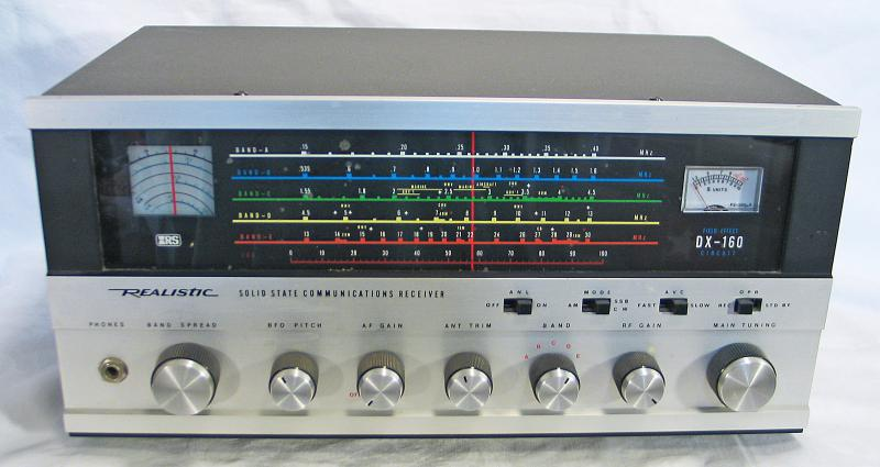 Радиоприемник Realistic DX-160