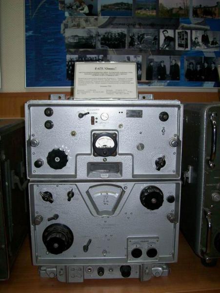 КВ радиоприемник Р-675