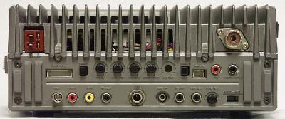 Трансивер Yaesu FT-757GX задняя панель